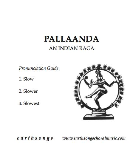 pallaanda pronunciation cd
